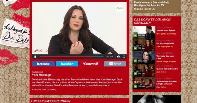 Screenshot Paula kommt Video Yoni-Massage
