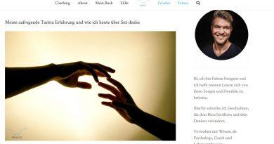 SCreenshot Blog Freigeist Fabian Ries