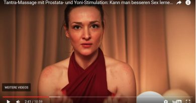 Screenshot PULS Reportage Tantramassage