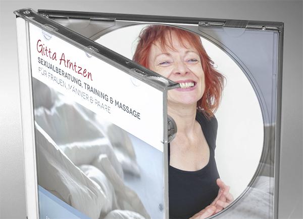 Cover Audio CD mit Anleitung zur Yoni-Selbstmassage Gitta Arntzen