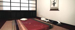 Massageraum Japanzimmer Ananda Tantramassage Köln
