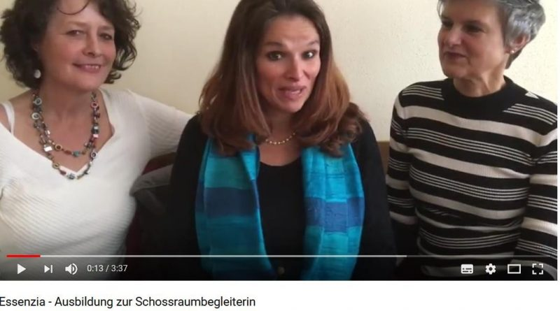 Screenshot Video zur Essenzia-Ausbildung