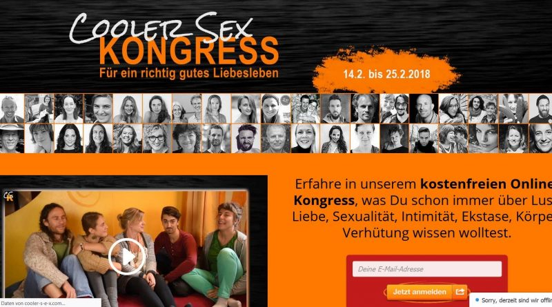Screenshot cooler-s-e-x Onlinekongress
