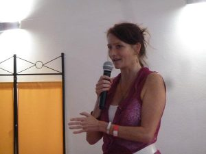 Mayonah Bliss auf dem Frauensymposium in 2016