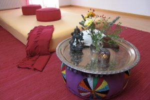 Massageraum Inari - Yonimassage in der Menopause