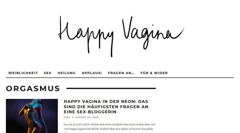 Screenshot Happy Vagina Blog