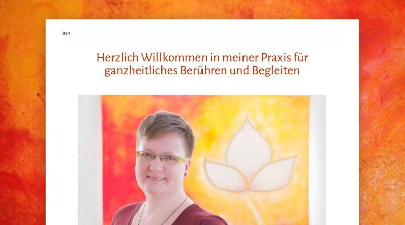 Screenshot Webseite Daniela Perzi Yoni-Massage Dischingen