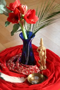 wilde-shakti-figur aus Seminar mit Elvira