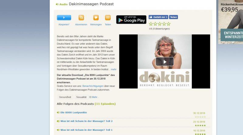 Screenshot Podcast Dakini mit Monika Kochs