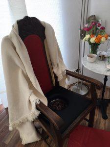 Stuhl für Vaginal-Steaming